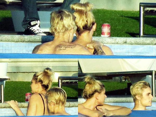 Shocking: Justin Bieber & Hailey Baldwin's PDA In Swimming Pool, Confirms Dating?