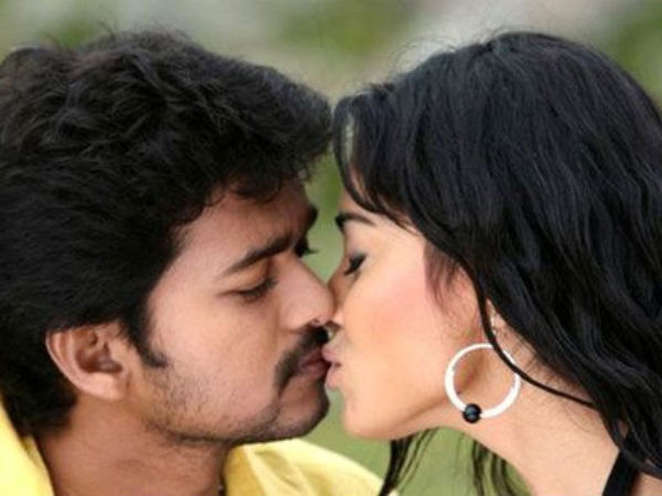 Shriya Saran Lip Kiss