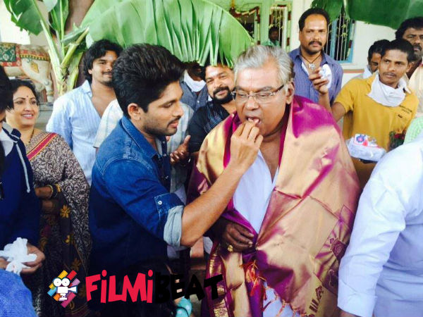Allu Arjun Wishes To Kota Srinivasa Rao