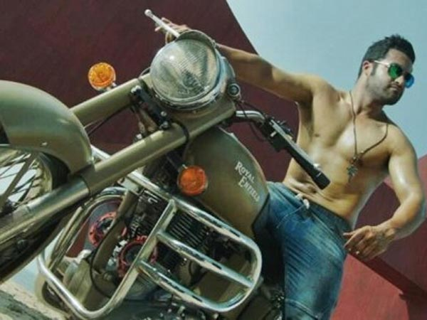 Jr.NTR In Temper