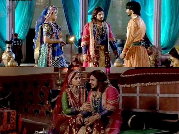 Akbar Breaks Down In Front Of Rukhiya; Salim To Celebrate Jodha-Akbar Marriage Anniversary!