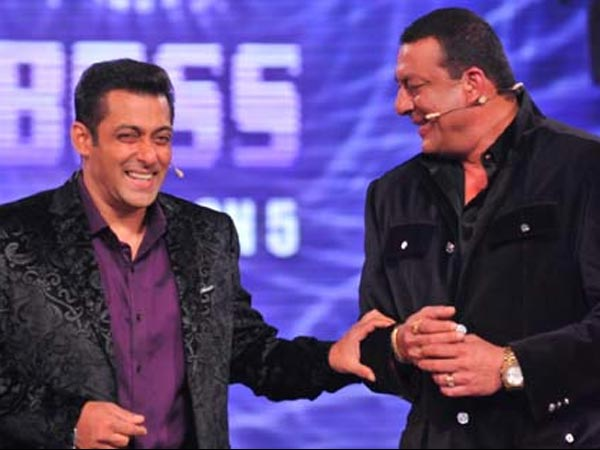 Bigg Boss 5 – Sanjay Dutt And Salman Khan