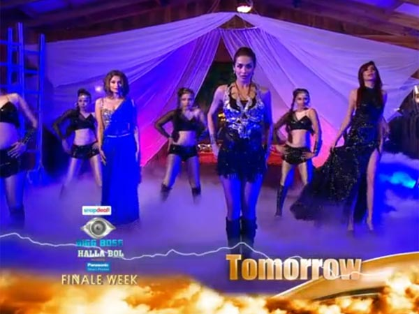 Malika Performing With Dimpy Karishma