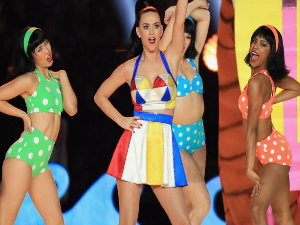 Katy Perry Disses Taylor Swift At Super Bowl Performance