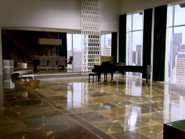 Christian Grey Apartment Fifty Shades Of Grey Scenes