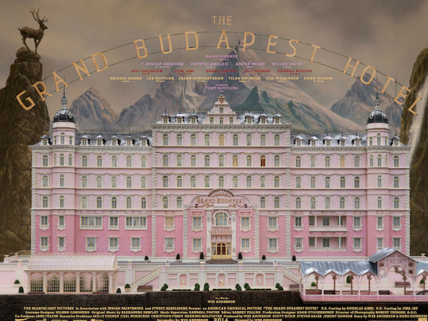 Best Film: The Grand Budapest Hotel