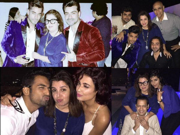 Farah Khan Threw Party