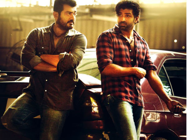 Ajith With Arun Vijay