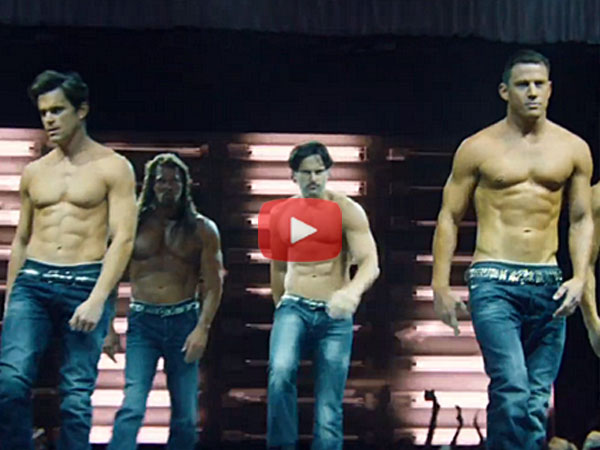 WATCH: Magic Mike XXL Trailer, Tatum Strips & Moves