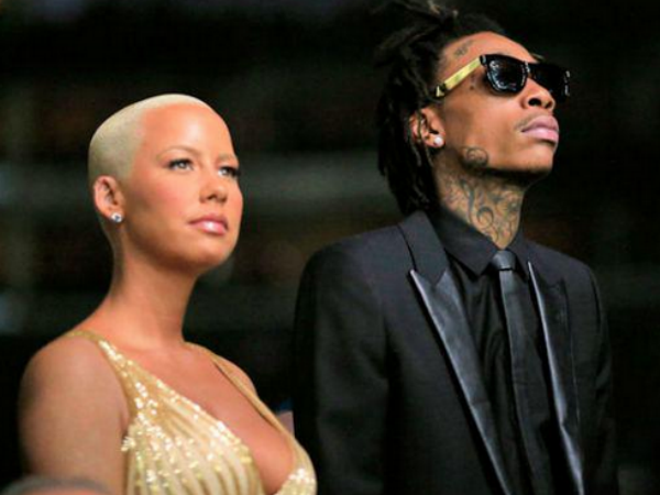 Wiz Khalifa Says 'No Thanks' To Getting Back With Amber Rose