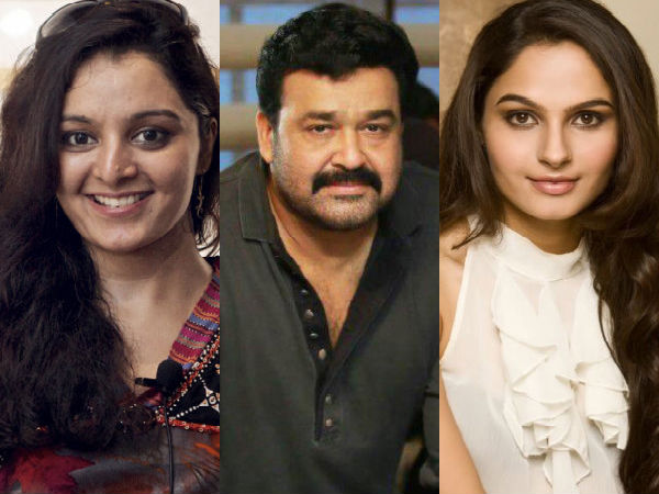 Not Manju Warrier, But Andrea Jeremiah For Mohanlal