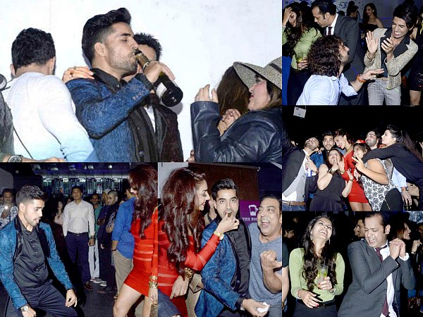 Bigg Boss 8 Contestants Partying