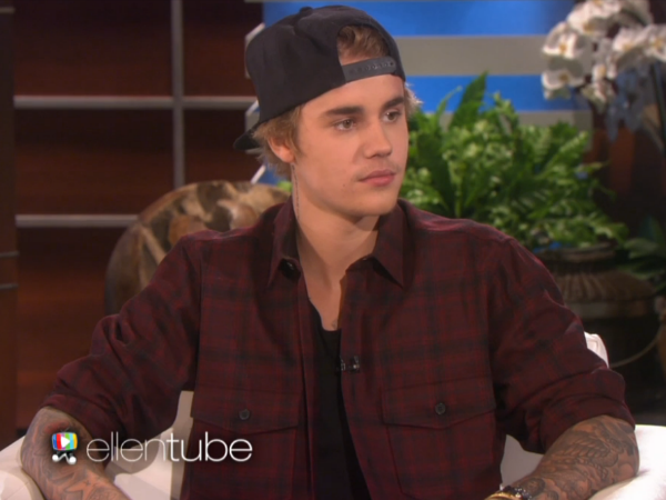 Justin Bieber Explains Ellen Why He Shot Apology Video