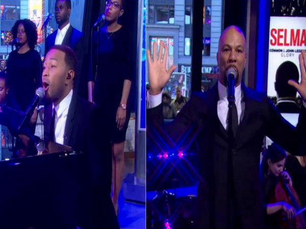 John legend and common perform glory grammys