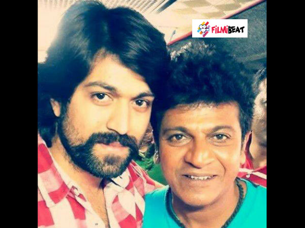PHOTO: Yash And Shivarajkumar On Sets Of Vajrakaya