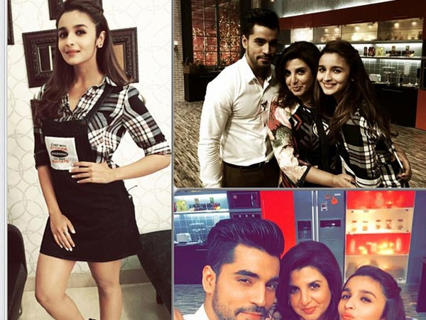 Gautam Gulati And Alia Bhatt Cook Together For Farah Khan's Cooking Show!