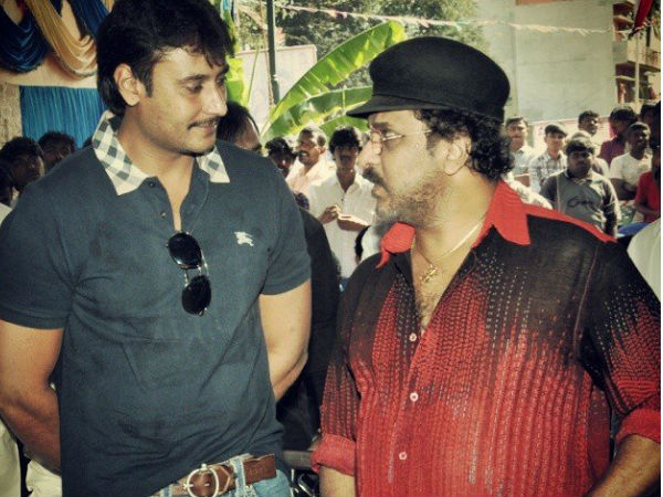 Challenging Star With Crazy Star Ravichandran