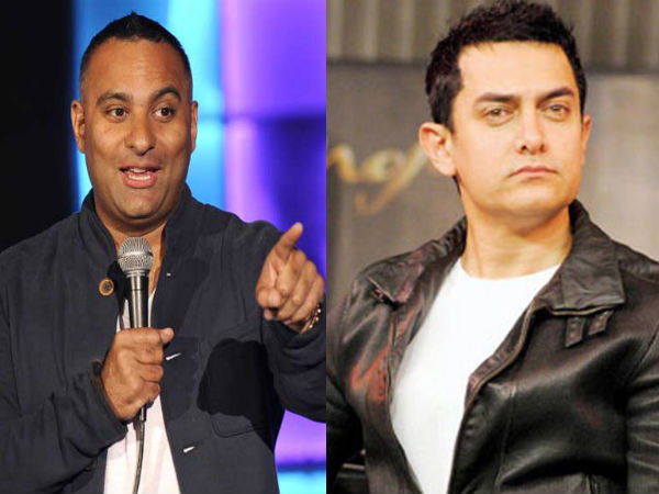 Russell Peters Aamir Khan