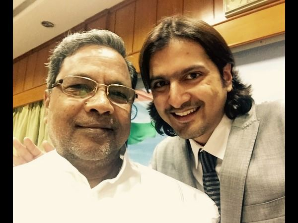 CM Siddaramaiah Felicitates To Ricky Kej For Grammy