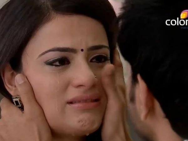 Ishaani In Tears