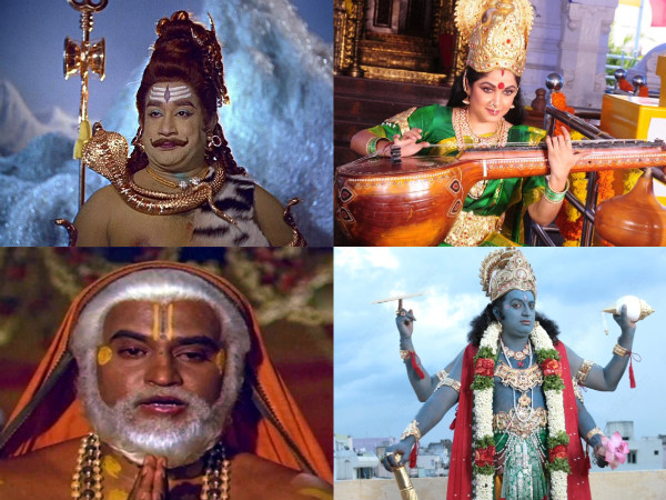 Shivaratri Spl: Top 10 Tamil Actors In 'God' Avatars!
