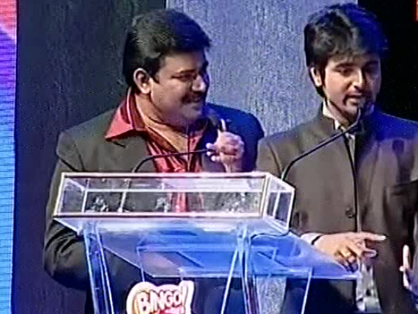 Sivakarthikeyan as Vijay Awards Host