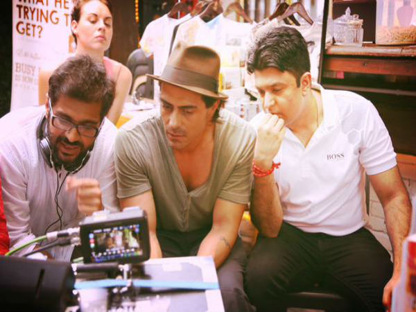 Arjun Rampal With The Director