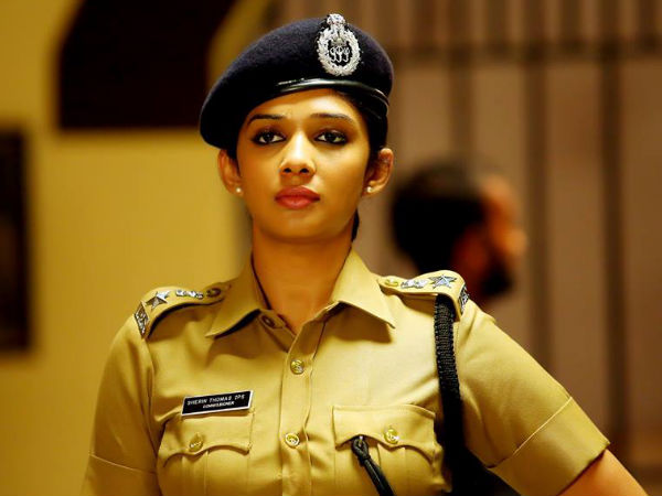 Nyla Usha as Sherin Thomas IPS