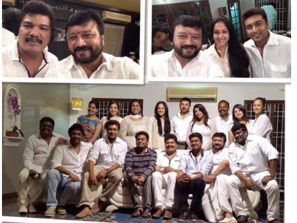 film stars reunite party vijay and suriya at film stars