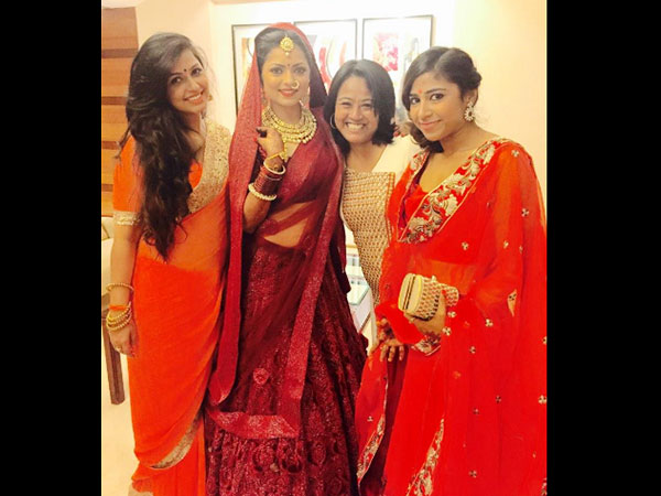 Drashti With Close Friends