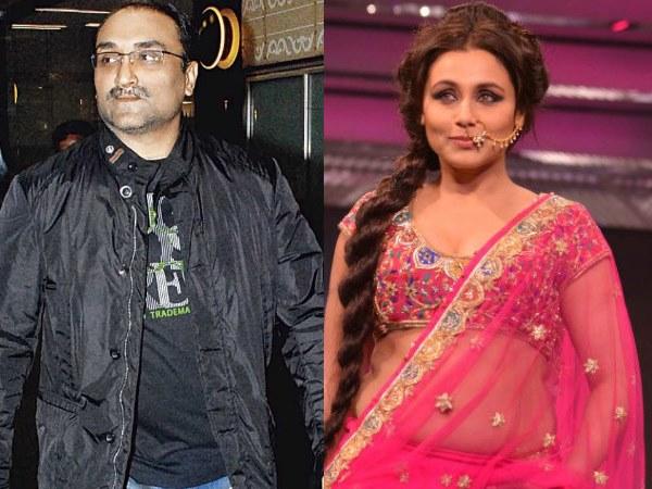 Rani Mukerji Aditya Chopra Marriage Love Story Wedding Pics