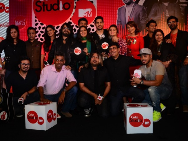 MTV Coke Studio Returns, Siddharth Malhotra, Alia Bhatt At Launch!