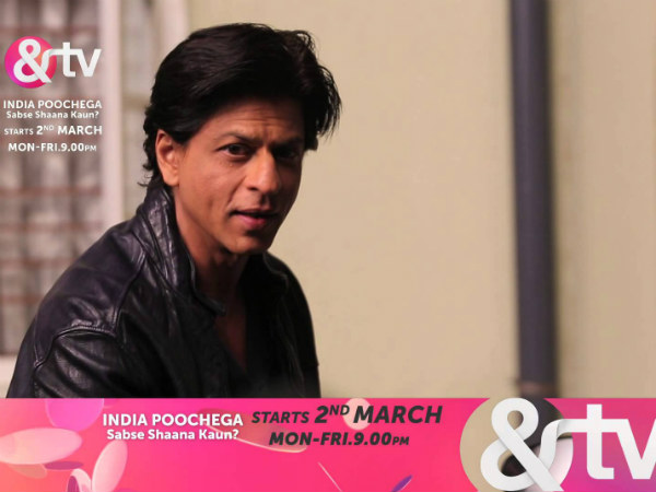 Will SRK Help Promote New Channel &TV