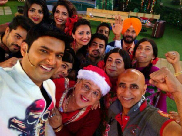 Kapil And Gang On Bigg Boss 8