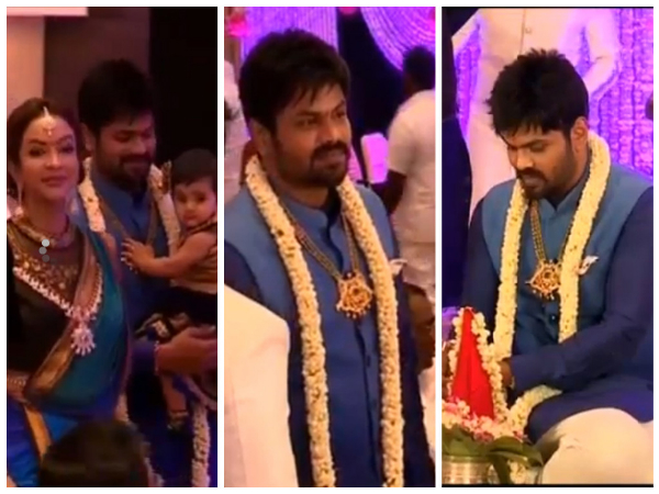 Happy Moments Of Manoj's Engagement