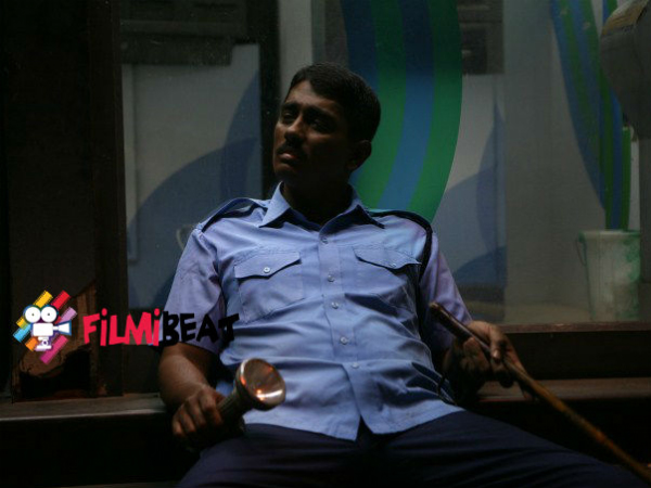 Siddharth As A Security Guard