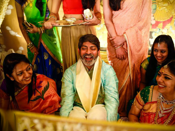 Jagapathi Babu's Daughter Meghana's Wedding Pics