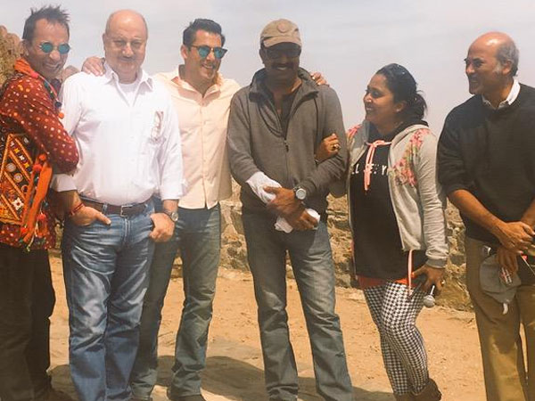 Anupam With Cast