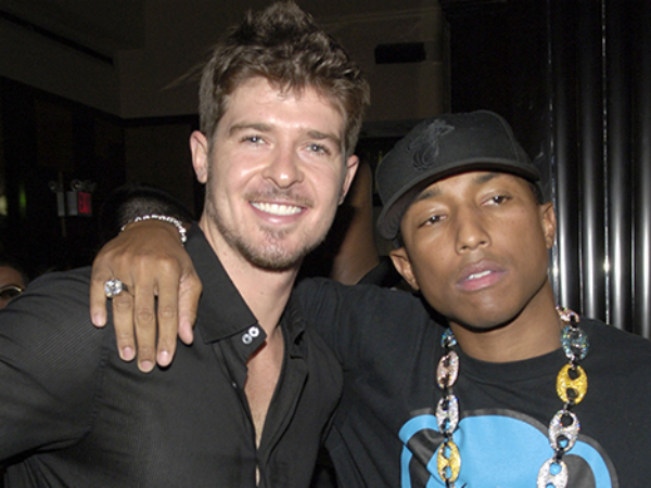 Robin Thicke And Pharrell To Challenge $7.4 Million Plagiarism Verdict