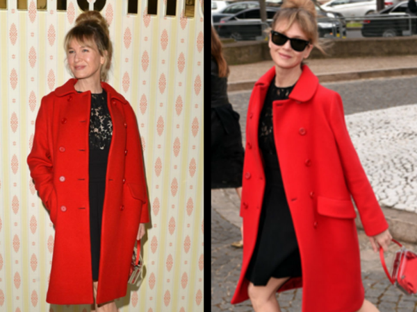 Renee Zellweger Is Back & Killed It At Paris Fashion Week!