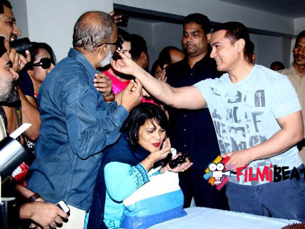 Aamir Khan Gives The Cake