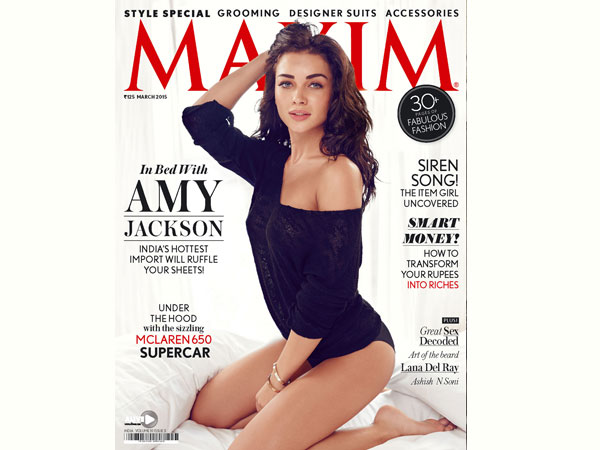 Amy On Maxim Cover
