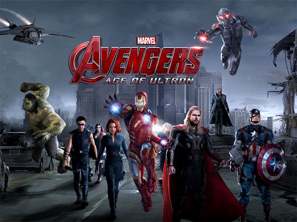 May 1: The Avengers: Age of Ultron