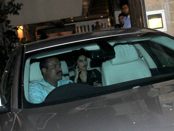 Spotted: Sonam Kapoor After Recovering From Swine Flu, Aamir Visits