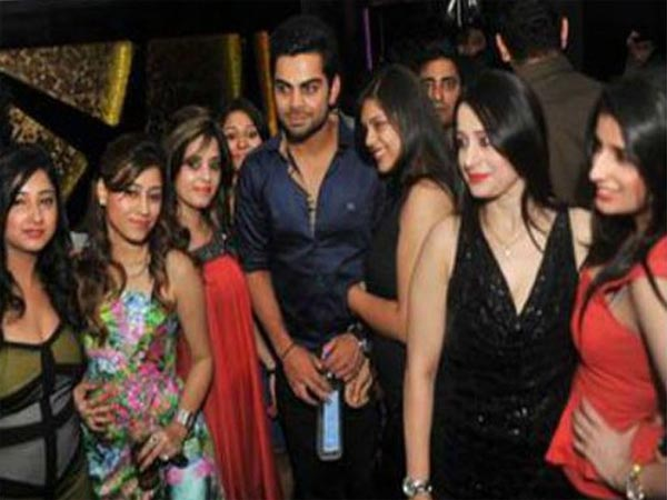 Virat Among The Girls