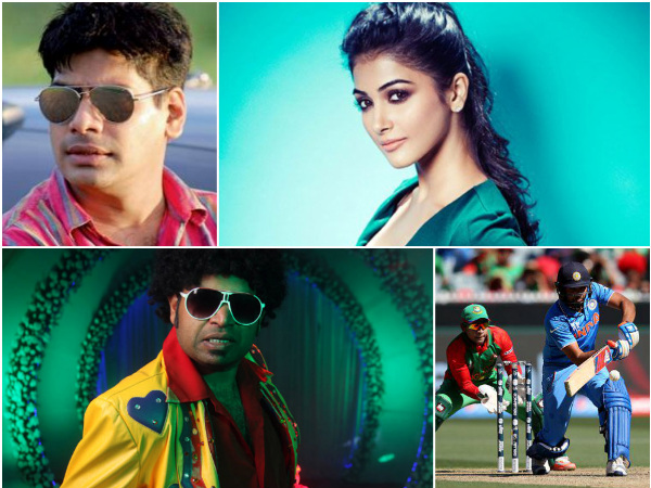 Check Out What Kollywood Celebrities Have To Say About Today's Cricket Match!