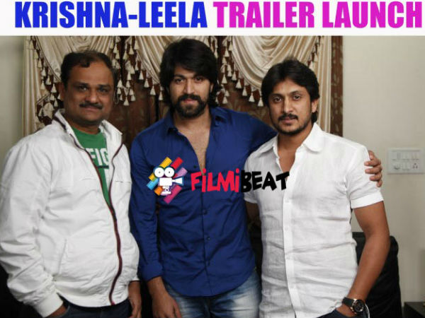 Director And Producer Of Krishna Leela With Rocking Star Yash