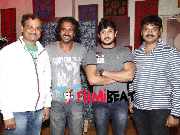 Team Krishna Leela With Real Star Upendra