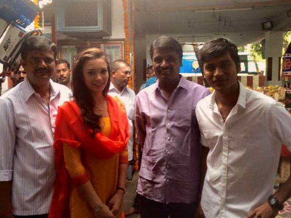 Dhanush Embarked On A New Project