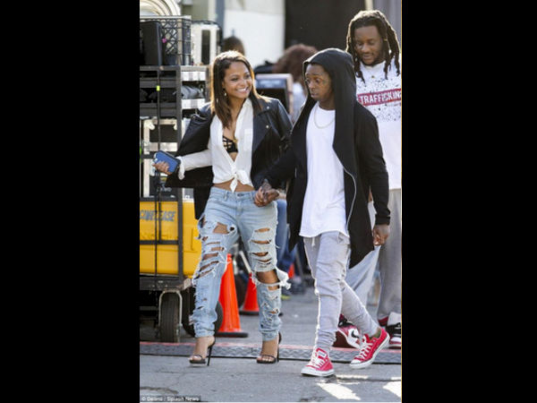 Lil Wayne & Christina Milian's Hide & Seek Over, Couple Confirm Dating